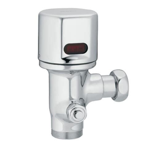 sensor operated flushers faucet moen 8310rdf16 m power closet battery powered sensor operated flush valve chrome faucetdepot
