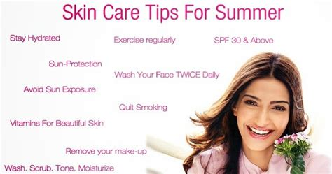skin care tips for glowing skin look like celebrity summer skin care tips remedies for fresh and glowing skin