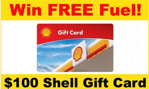 Shell Gas Gift Card Amazon - shell gas 100 gift card giveaway couponing 101