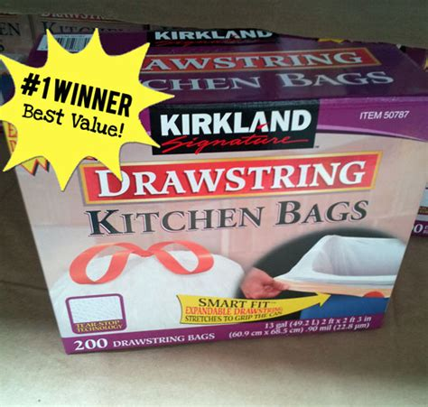Kirkland Kitchen Bags by Best Price And Value For Garbage Bags Karrie S Research Project