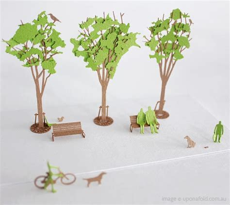 How To Make Model Trees From Paper - wallpapers name pretty architectural models