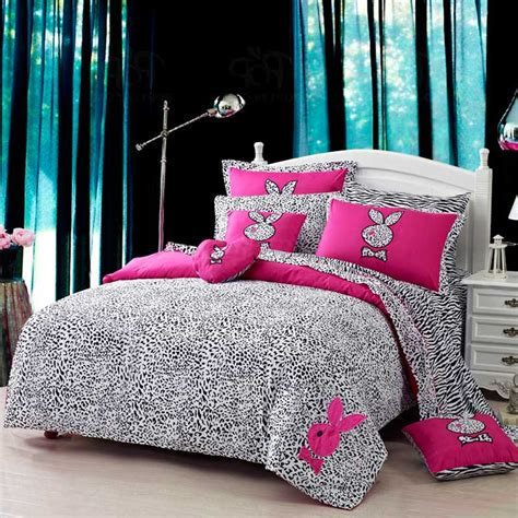 playboy bedding playboy leopard print bedding set ebeddingsets