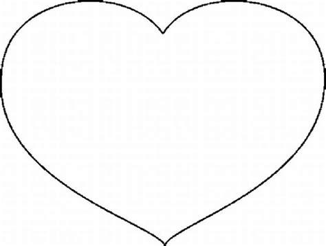 imagenes en blanco de corazones coraz 243 n para colorear