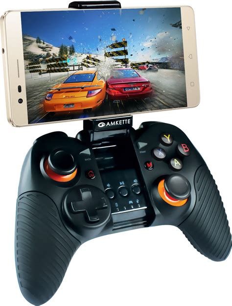 gamepad android amkette evo gamepad pro 2 wireless controller for android smartphone and tablets amkette