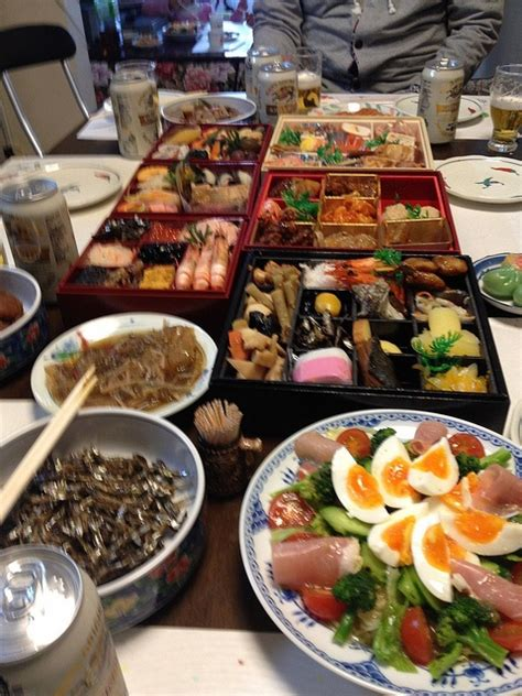 new year dishes traditional osechi ryori japanese new year dishes food drinks
