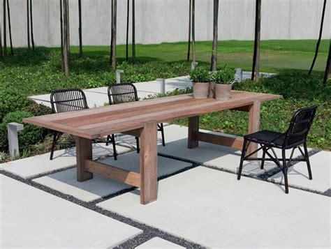 mobili giardino legno 40 foto di tavoli da giardino in legno per arredamento