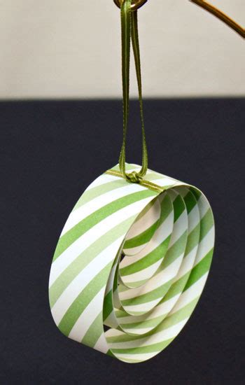 Paper Ornament Crafts - funezcrafts easy crafts paper circles ornament