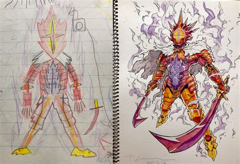 doodle seven deadly sins turns his sons doodles into anime characters and the