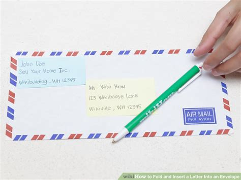 how to make a letter envelope the 3 best ways to fold and insert a letter into an envelope
