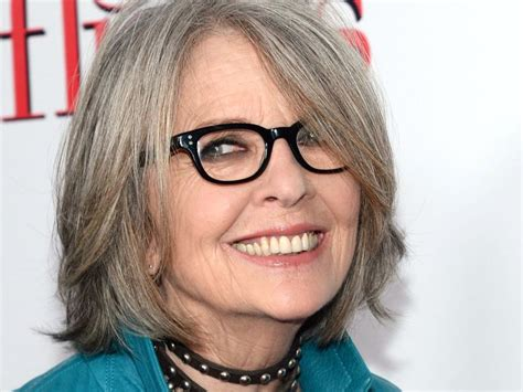diane keaton how old diane keaton was excited to portray older woman