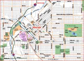 denver colorado county map map of denver colorado my
