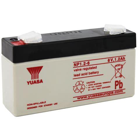 Batery Ups Yuasa Np 1 2 6 np1 2 6 yuasa battery bec distribution