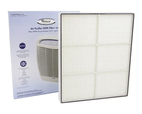 whirlpool whispure air purifier replacement