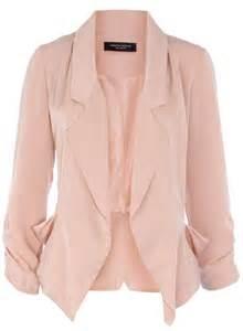 blush colored blazer blush blazer with sleeves blush