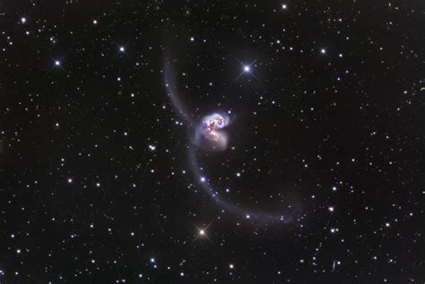 the antennae galaxies draw closer to us