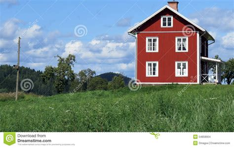 rural housing lonely rural home stock photo image 54858904