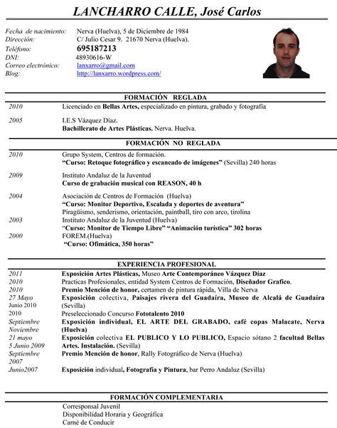 Modelo Curriculum Artistico Como Hacer Un Curriculum Vitae Como Hacer Un Curriculum Vitae Honduras