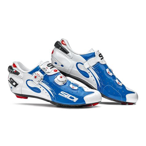 Kaos Nike 6 0 Top Product Nggifa sidi wire carbon vernice cycling shoes white blue