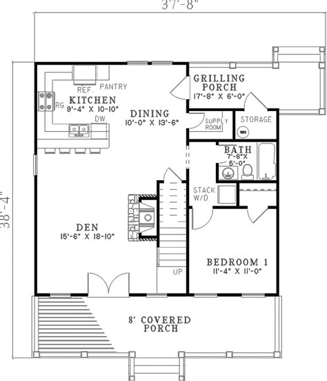 kirkland hollow bungalow home plan 055d 0350 house plans