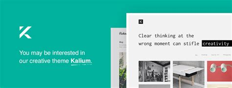 themeforest xenon admin calcium minimalist portfolio blogging theme by