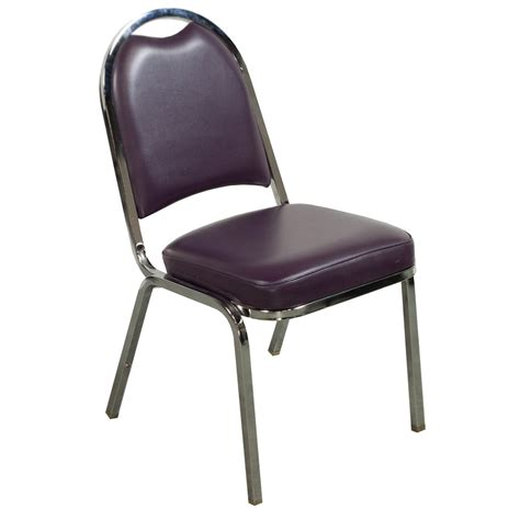 Stack Chairs by Falcon Used Stacking Side Chair Purple National Office