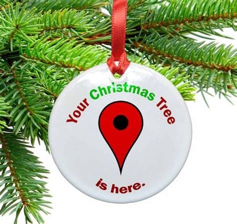 google maps christmas tree locator ceramic christmas