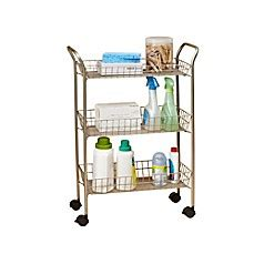 bathroom storage cart carts bins cabinet drawers bath organizers bed bath beyond