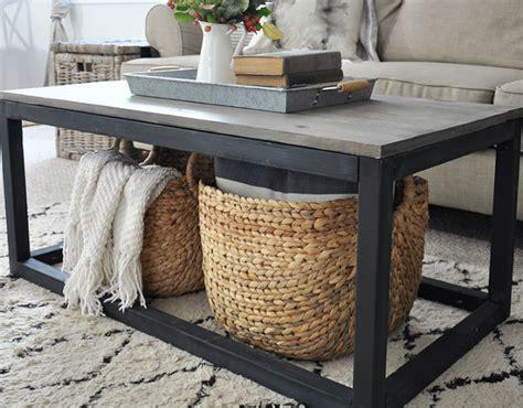 remodelaholic  unique diy coffee table ideas