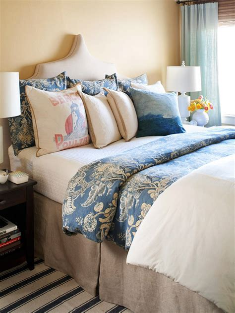 blue and beige bedding blue and beige bedding transitional bedroom bhg