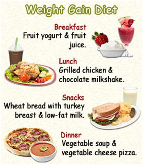 food for weight gain weight gain diet chart