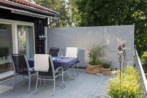 windschutz f 252 r terrasse und balkon w 228 hlen 20 ideen und tipps