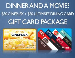 Cineplex Dinner And A Movie Gift Card - christmas has come early book by dec 24 trip sense tripcentral ca
