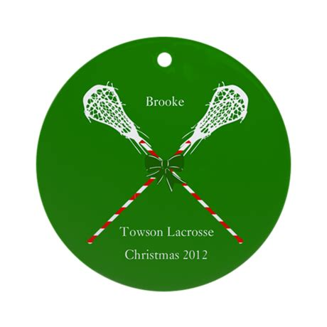 lacrosse christmas gifts lacrosse personalized ornament by artzeechris02