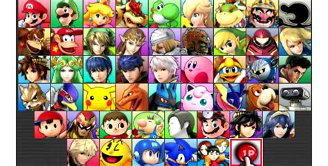 Smash Bros 3ds smash bros 3ds unlockable characters