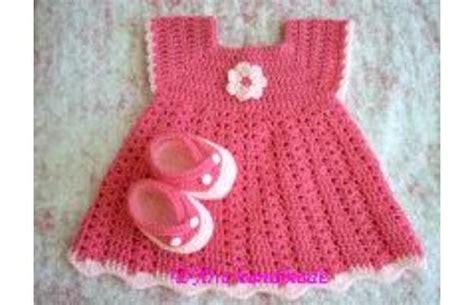 vestidos tejidos a crochet para bebes patrones de vestidos de beb 233 tejidos a crochet imagui
