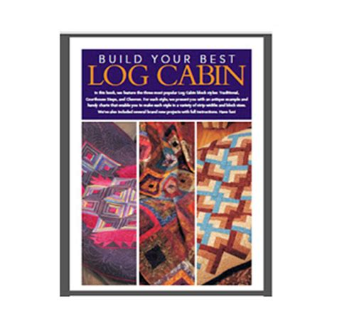 the log cabin an illustrated history books s quilts log cabin e book from fons and porter