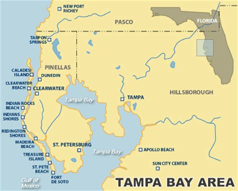 map of ta bay area florida ta bay area vacation rental map find rentals