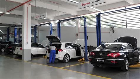 service centre volkswagen malaysia introduces its volkswagen technical service centre in