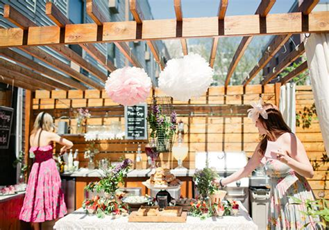 Garden Wedding Shower by Garden Bridal Shower Themes Outdoor Vintage Lace