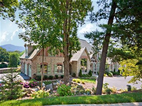 luxe asheville a different realty custom built french country luxury home north carolina