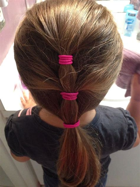 hairstyles for girls easy easy hairstyle for little girl for the kiddos pinterest