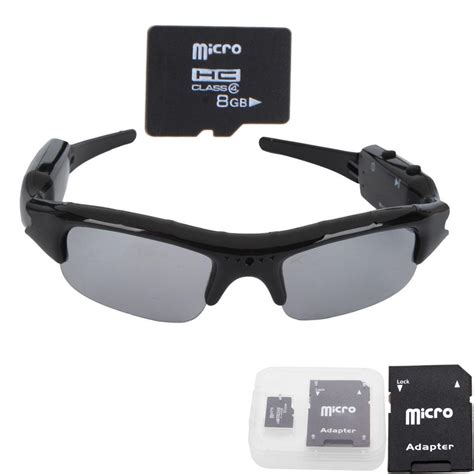 Sale Sunglasses Dvr Kacamata Kamera Adaptor 8gb hd camcorder sunglasses dvr digital glasses recorder ebay
