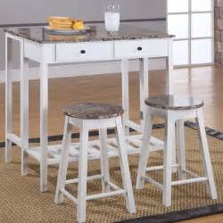 Breakfast Bar Table And Stools Set Inroom Designs Breakfast 3 Dining Table Set