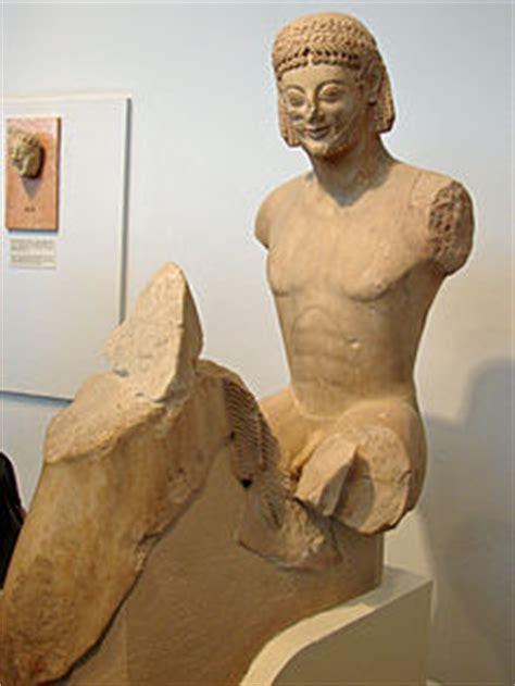 colmata persiana scultura attica arcaica