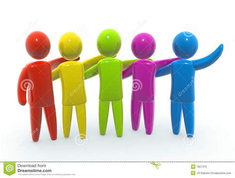 imagenes de varias personas trabajando union illustration stock image du m 233 taphore hommes