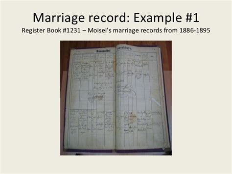 Hungarian Marriage Records The Maramaros Maramures Records Indexing Project
