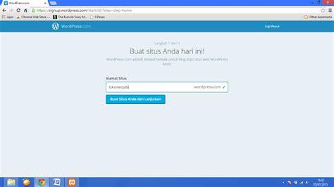 membuat wordpress online e business cara membuat wordpress online beserta gambar