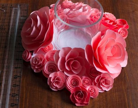 Paper Craft Ideas For Weddings - 14 diy flower crafts for weddings or blissfully