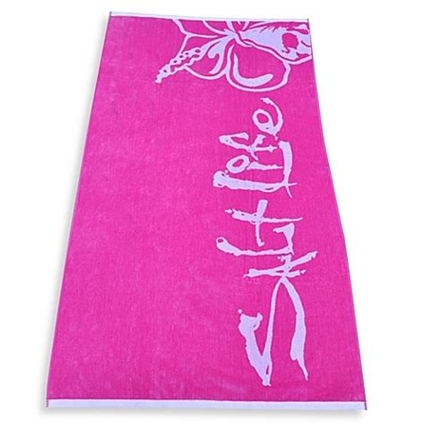 beach towels bed bath and beyond salt life 174 hibiscus beach towel bed bath beyond