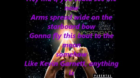 i m on a boat lyrics i m on a boat the lonely island ft t pain karaoke clean
